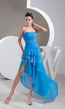 bridesire asimmetrico abiti da cerimonia donna prezzi economici vestiti eleganti 2017 on line. Black Bedroom Furniture Sets. Home Design Ideas